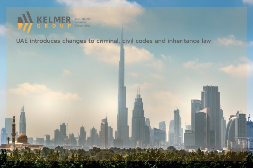 UAE introduces changes to criminal, civil codes and inheritance law