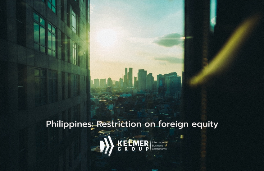 Philippines: Restriction on foreign equity