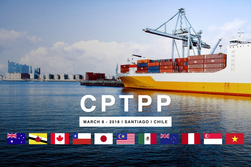 Singapore and Vietnam signed a new TPP trade pact with other 9 countries: CPTPP